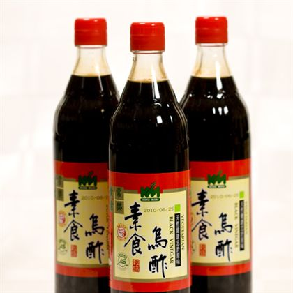 Black Vinegar 600ml 素食烏酢 - JR Vegetarian Ltd - Veggie ...